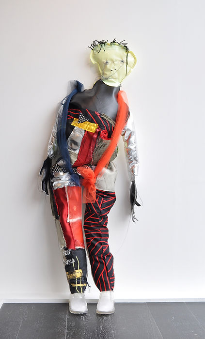 Jesse - Mixed media sculpture, dimension