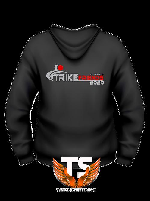 """Hoodie Sweatshirt - """"Trikefriends 2020"""" - 2-farbig"""