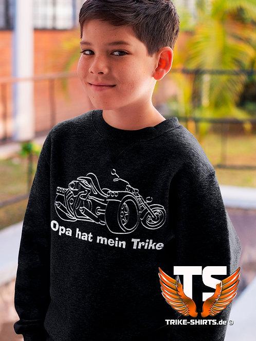 """Sweatshirt Set-In Kids - """"Opa hat mein Trike"""""""