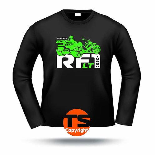"LA-Shirt Comfort  - ""RF1 - LT-R-Edition Turbo"" in 8 Flexfarben, 2-farbig"