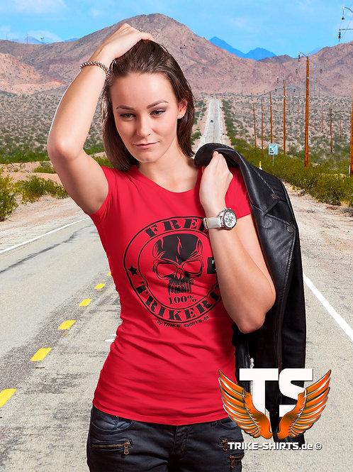 """T-Shirt Classic - """"FREE TRIKERIN"""" in 10 Textilfarben"""