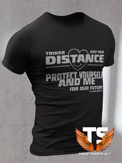 "T-Shirt Classic - ""Triker Keep your Distance"""