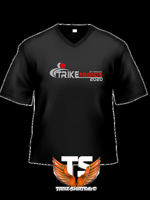 """V-Shirt Classic - """"Trikefriends 2020"""" - 2-farbig"""