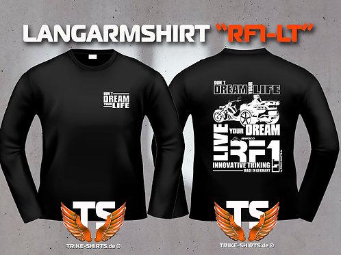 """LA-Shirt Comfort - RF1-LT """"Don´t Dream your Life"""" Weißflex"""
