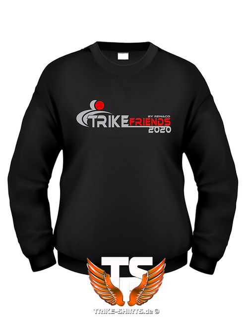 "Sweatshirt Set-In - ""Trikefriends 2020"" - 2-farbig"