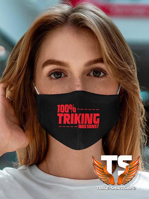 """Mund-Nasen-Schutz  - """"100% Triking... Was sonst... Staffelpreis"""