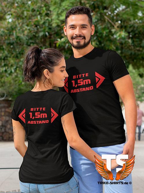 "T-Shirt Classic - ""Abstand 1,5m"""