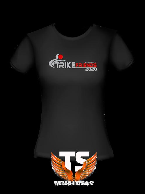 "T-Shirt Comfort -  ""Trikefriends 2020"" - 2-farbig"