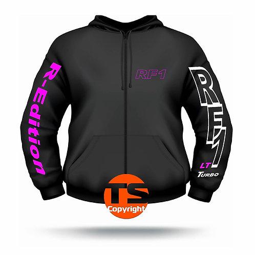 "Sweat Jacket Active - ""RF1 - LT-R-EDITION"" in 8 Flexfarben, 2-farbig"