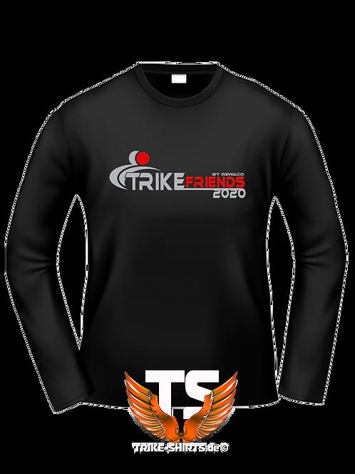 "LA-Shirt Comfort - ""Trikefriends 2020"" - 2-farbig"