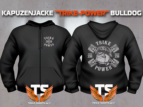 "Sweat Jacket Active - BULLDOG ""TRIKE POWER""  RIDE HARD 2020 - LADIES"