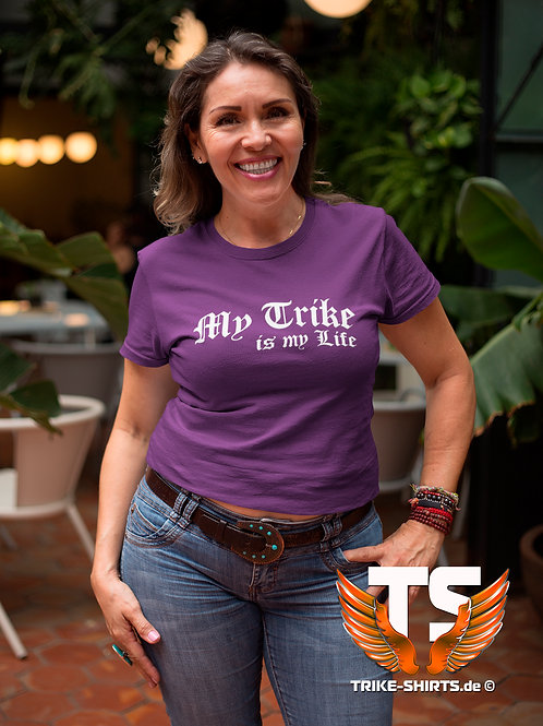 """T-Shirt Classic - """"My Trike is my Life"""" 001 - in 10 Textilfarben"""