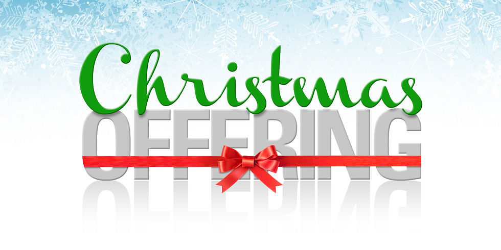 Pastor's Christmas Offering