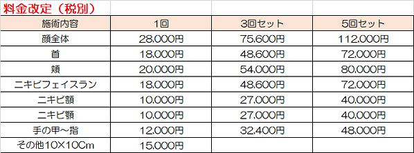 フォトフェイシャル料金改定.png