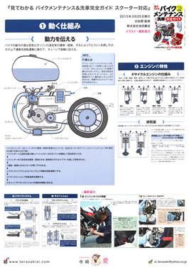 『見てわかる バイクメンテナンス&洗車完全ガイド 【スクーター対応】』