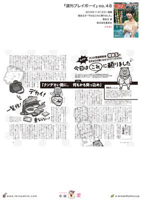 『週刊プレイボーイ』48号