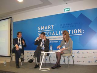 Представники департаменту взяли участь у міжнародній конференції «Смарт-спеціалізація: діалог для тр