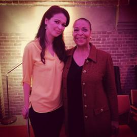 With Roberta Alexander