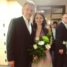 With Thomas Hampson