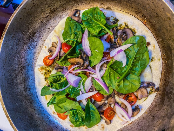 Recipe of the Week - Pesto Portobello Quesadillas