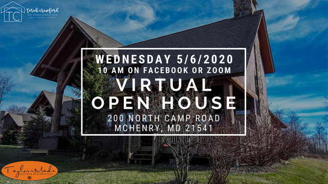 Virtual Open House - 200 North Camp Road, McHenry, MD 21541