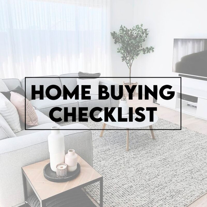5 Items for Your Homebuyer Checklist