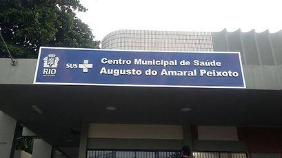Letreiro em Chapa Galvanizada