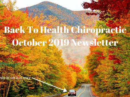 October 2019 Newsletter and Hours