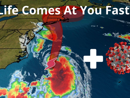 The Hurricane and a Positive Covid test