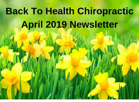 April 2019 Newsletter, Hours and Info...