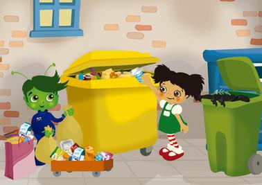 nenos reciclando plastico.jpg