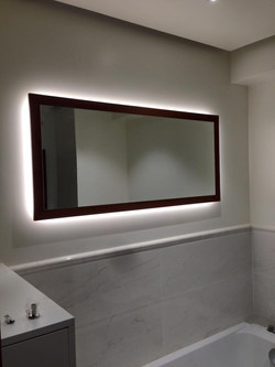 Had made mirrors with integrated LED