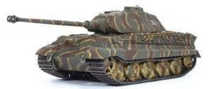 61007 King Tiger Porsche Turret w/Zimmerit