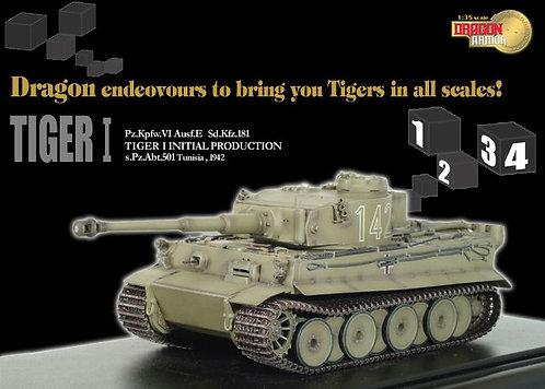 61001 Tiger I Initial Production, s.PzAbt.501