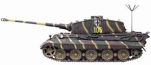 61029 King Tiger Henschel Turret Command Version