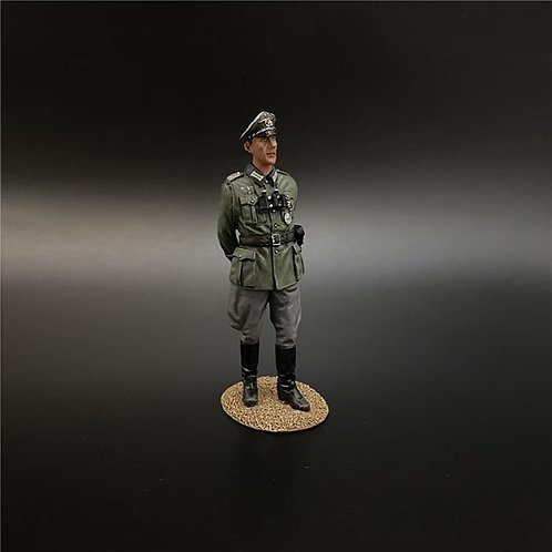 NO011 Wehrmacht Colonel With Hands Behind Back
