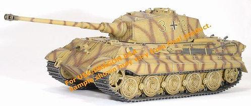 61011 King Tiger Henschel Turret w/Zimmerit