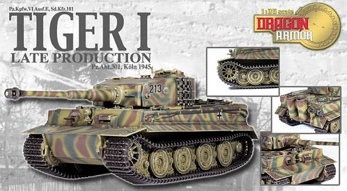 61020 Tiger I Late Production, Pz.Abt.301