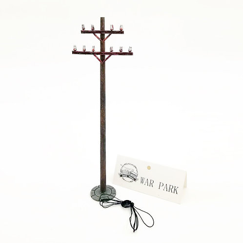 WS003 Telegraph Pole with Wire