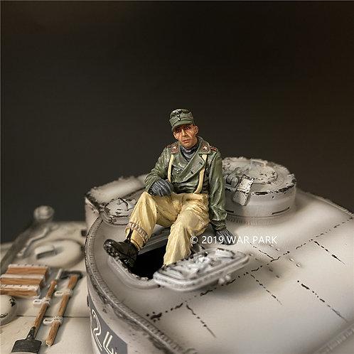 KH084 Tank Crew Wearing Overalls