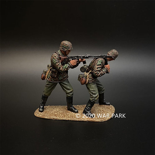 KU046 Das Reich SS MG42 Machine Gun Team