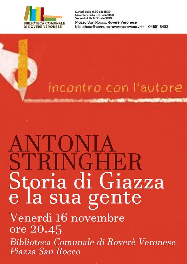 Incontro con l'autore_Antonia Stringher.