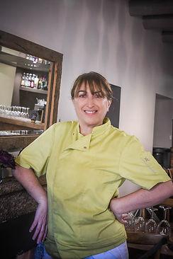 Véronique Fresi, co-gérante du Relais de Sotta