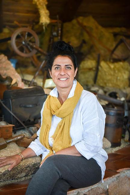 Christine Finidori, gérante des Bergeries de Piscia