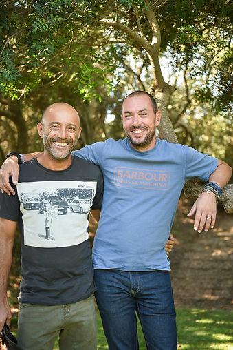 Jean-François Ladu et AnthonyBaggioni, co-gérants du Cabanon Bleu