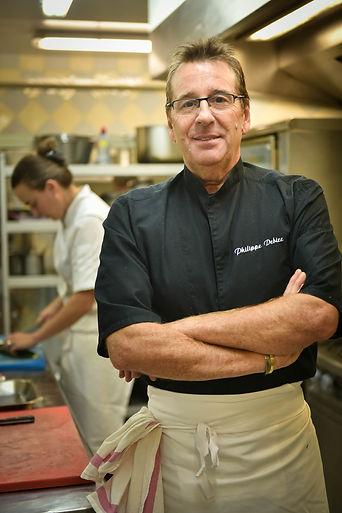Philippe Debize, Chef de cuisine, Table du Goeland