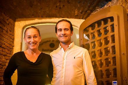 Jean-NoëlMichelozzo et Sandrina Pautot, Maitres restaurateurs A Furana
