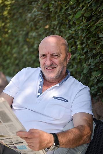 Paul Andreani, gérant du restaurant U Santa Marina