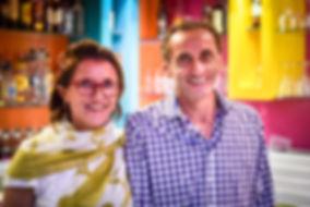 Michèle et José Cesari, co-gérants de la Canne à Sucre, meilleur glacier Porto Vecchio