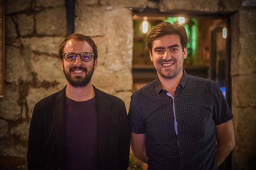 Julien et Kenny Fadda, co-gérants de l'Othello, meilleur bar Porto Vecchio